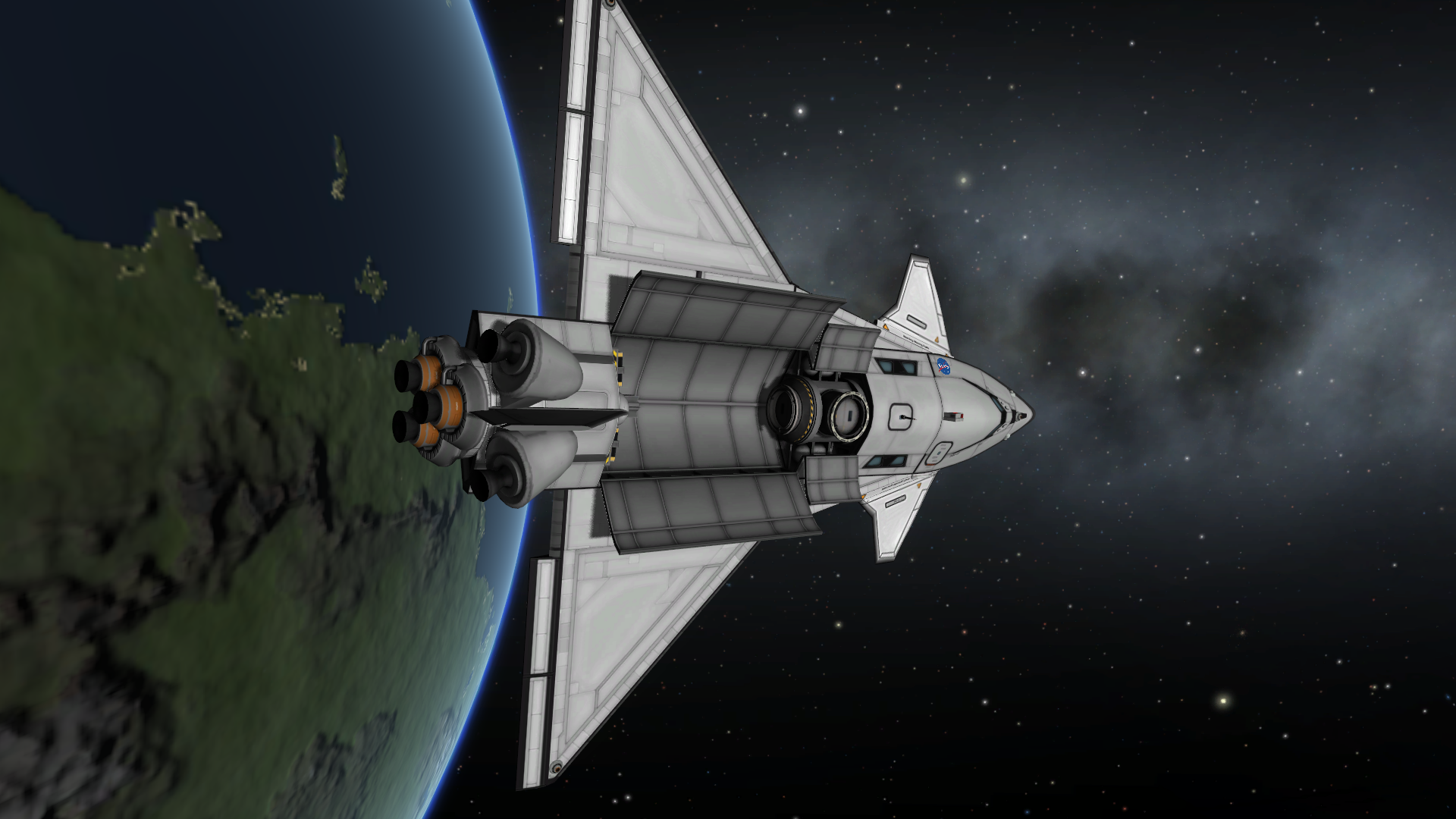 how to make a ring space station ksp